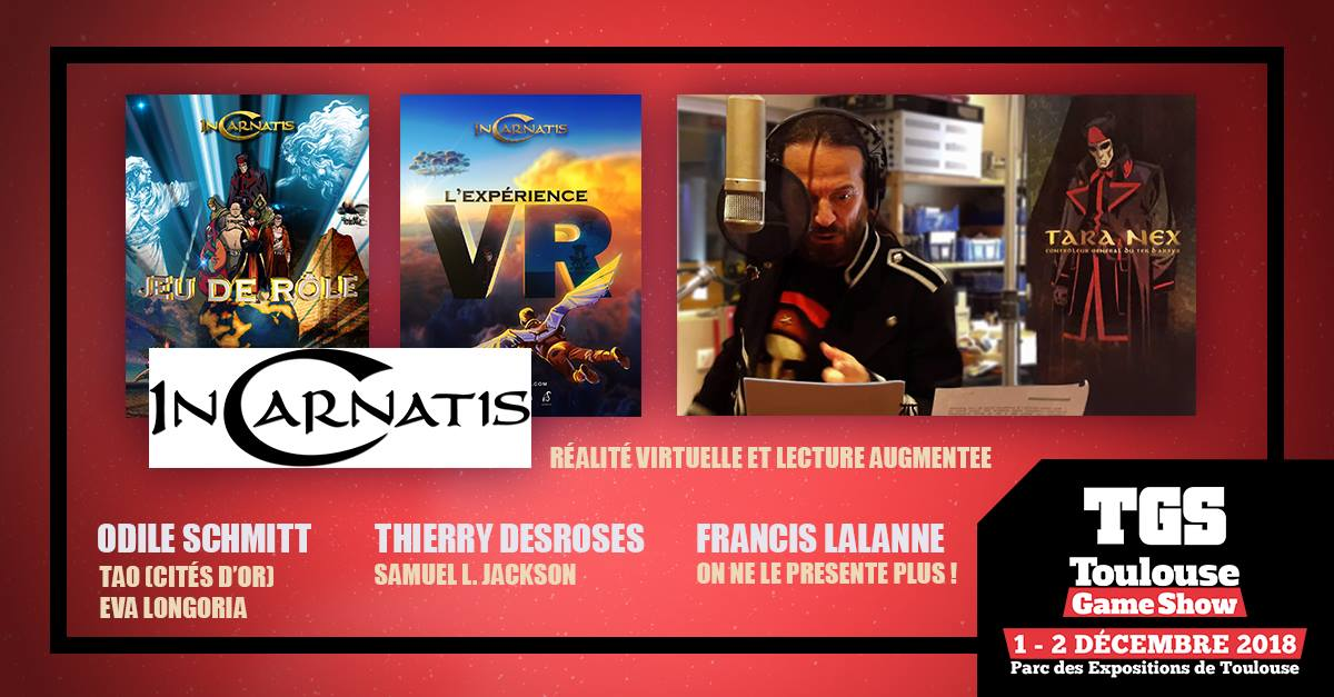 InCarnatis au Toulouse Game Show