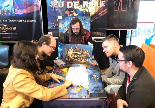 """Partie de JDR """"Panique sur les RS"""" InCarnatis"""